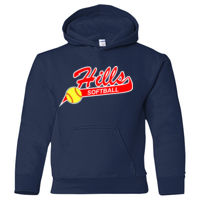 HBSA - Heavy Blend Youth Hooded Sweatshirt (SS) HBSA Thumbnail