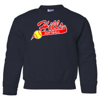 HBSA - Heavy Blend Youth Crewneck Sweatshirt (SS) HBSA Thumbnail